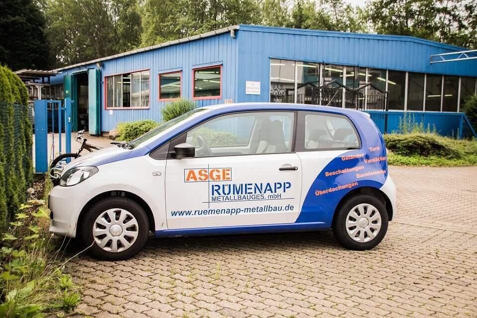 Die Rümenapp Metallbau GmbH setzt unsere GPS Ortung zur Erfüllung der Aufzeichnungspflicht ein