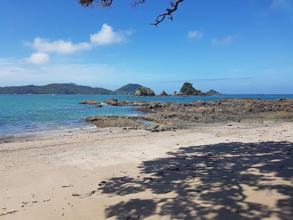 Bastian Kaminski auf Neuseeland Reise mit unserem mobilen GPS Tracker