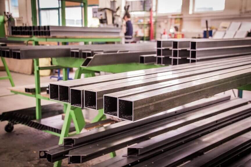 Bearbeitungszentrum der Rümeapp Metallbau GmbH