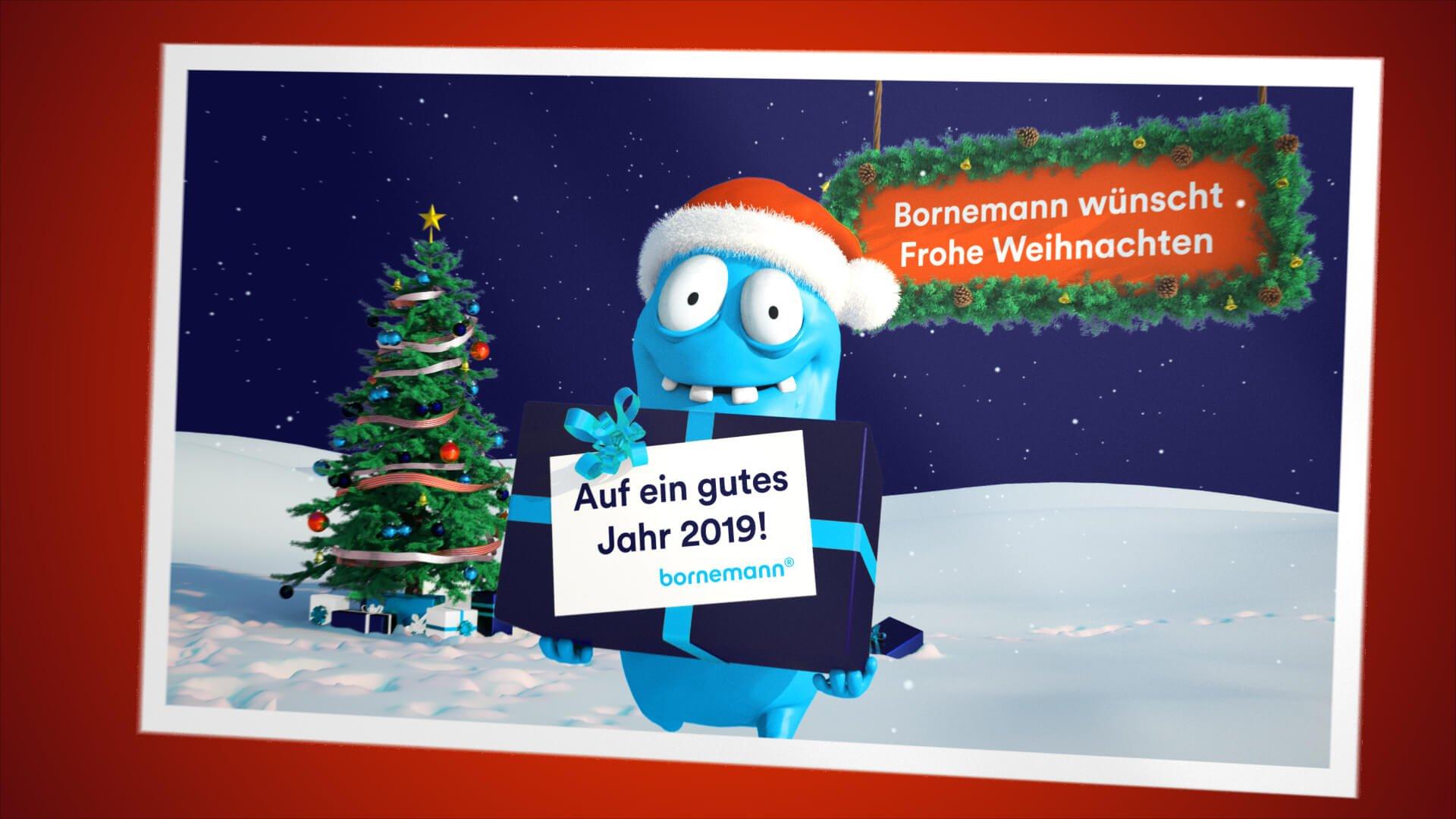 Frohe Weihnachten Und Guten Rutsch In Neues Jahr.Bornemann Wunscht Frohe Weihnachten Ein Schones