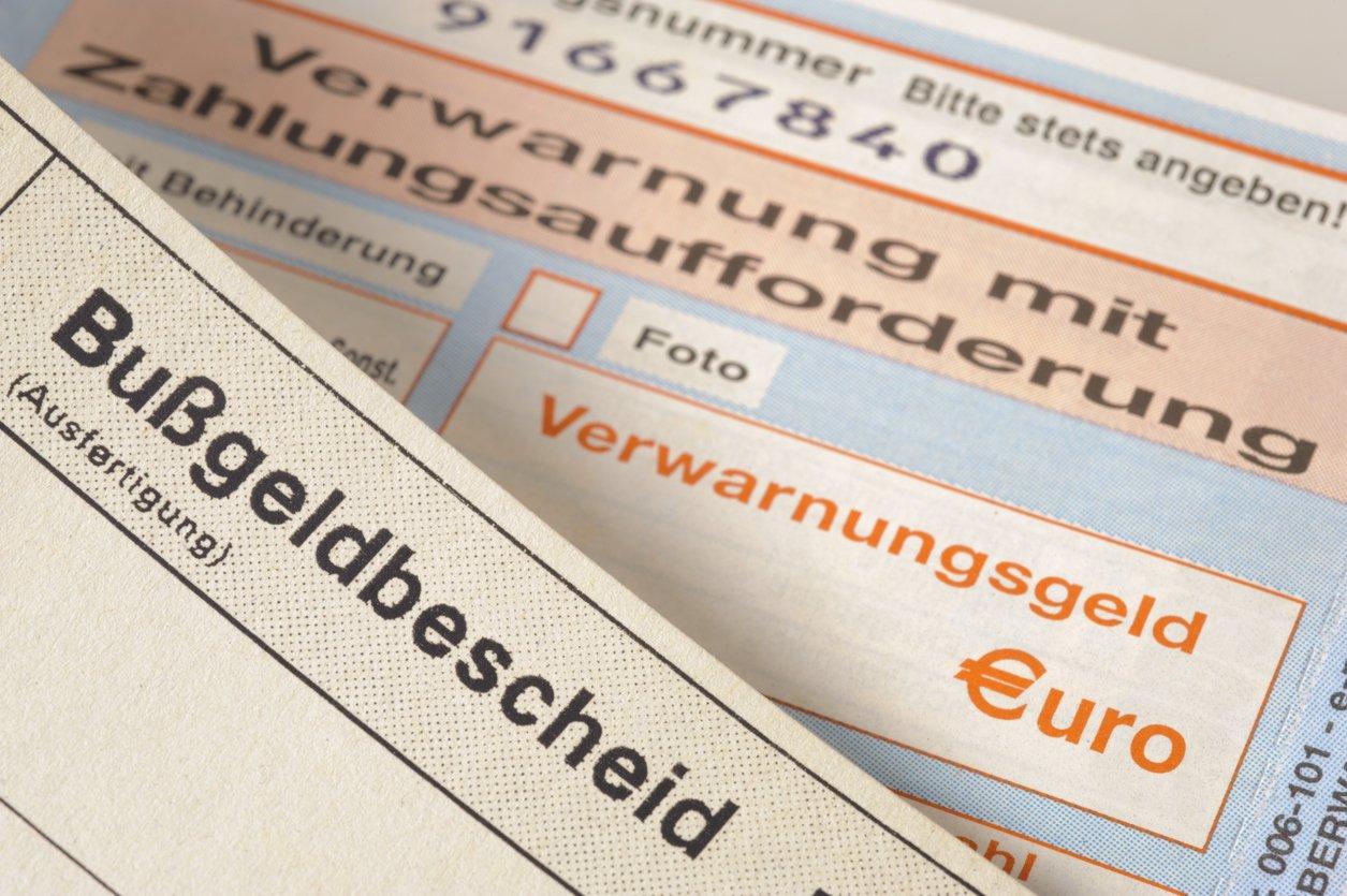 Bußgeldbescheid: Wie du deine Kosten um 33 Prozent reduzierst