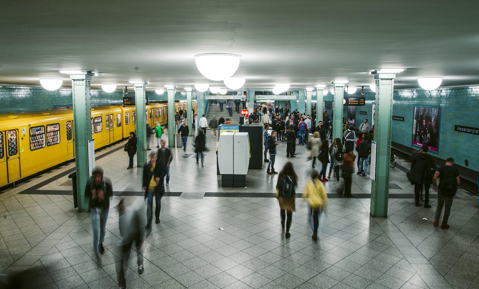 Höchstgrenze bei Entfernungspauschale: Foto einer U-Bahn-Station