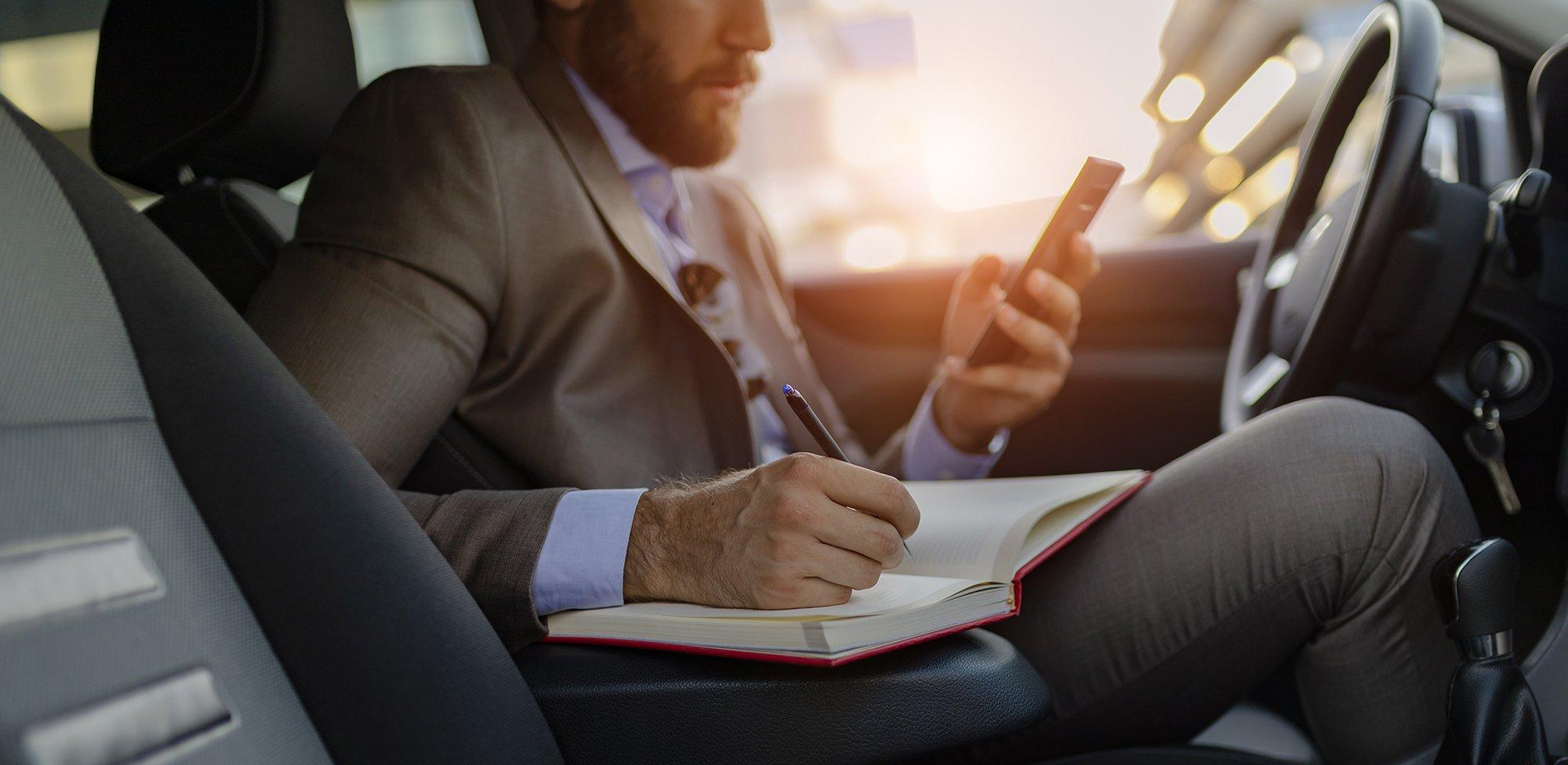 Firmenwagen: Fahrtenbuch