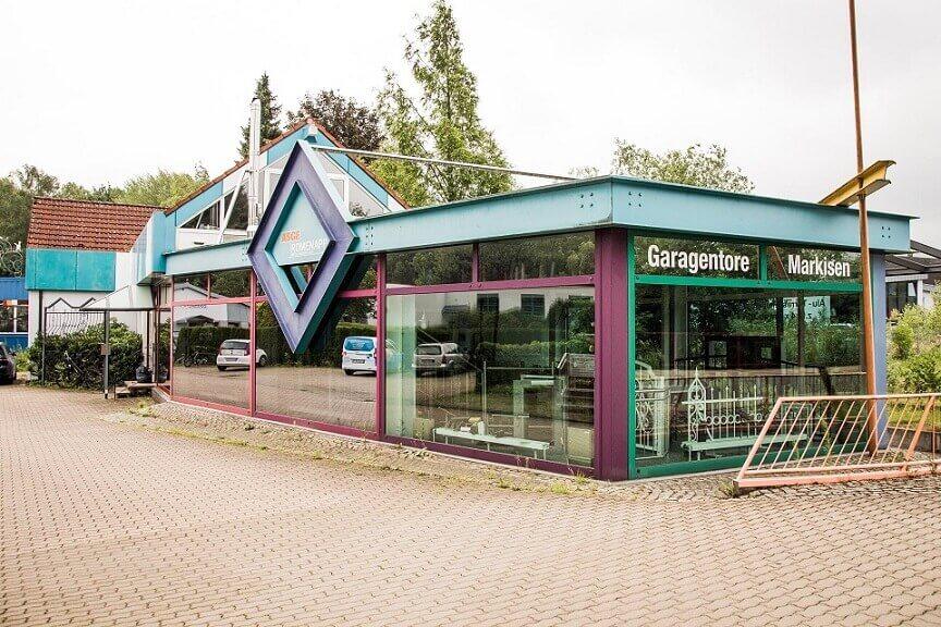 Firmensitz der Rümenapp Metallbau GmbH im Harzvorland