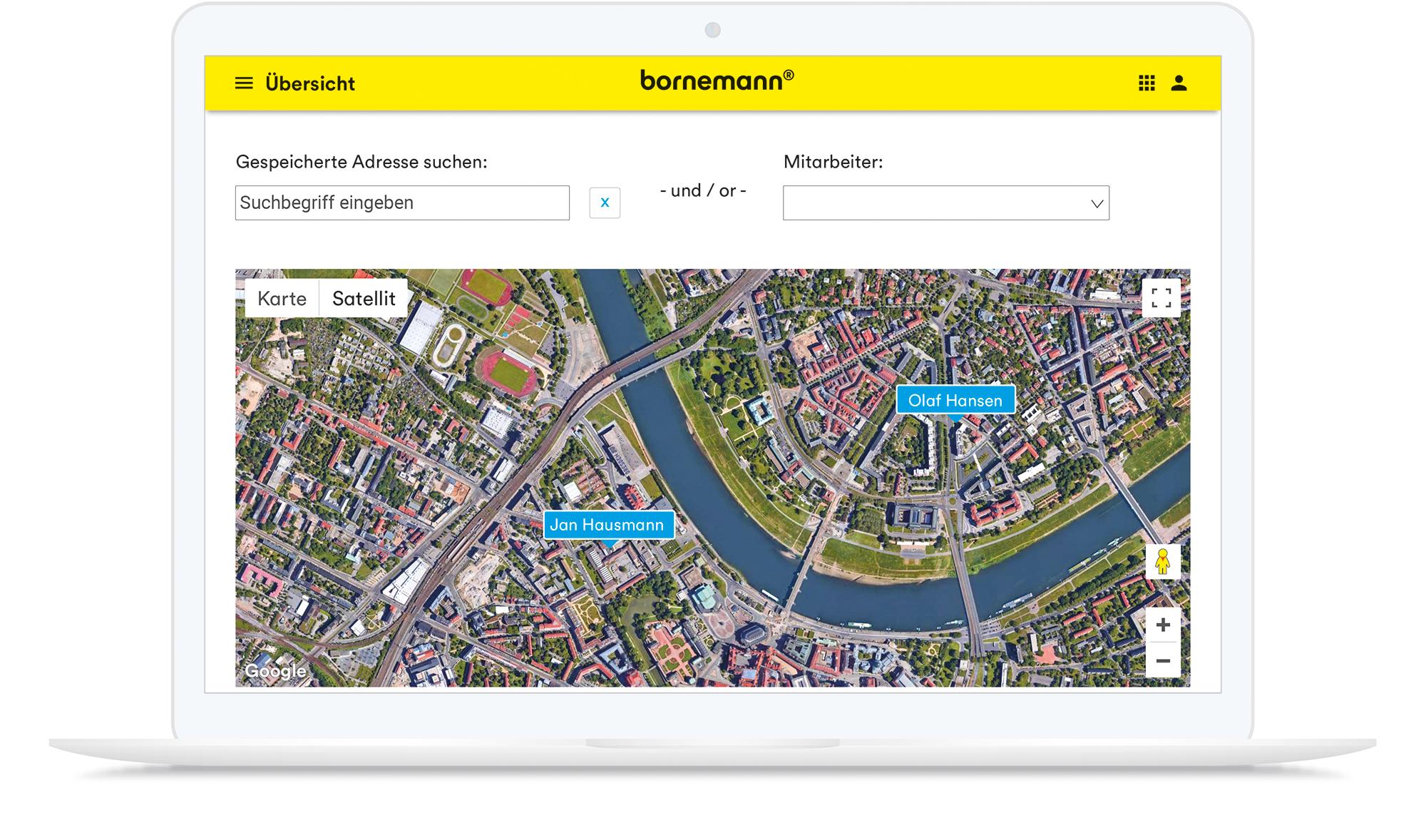 Tracking via GPS: Bornemann Work als Beispiel