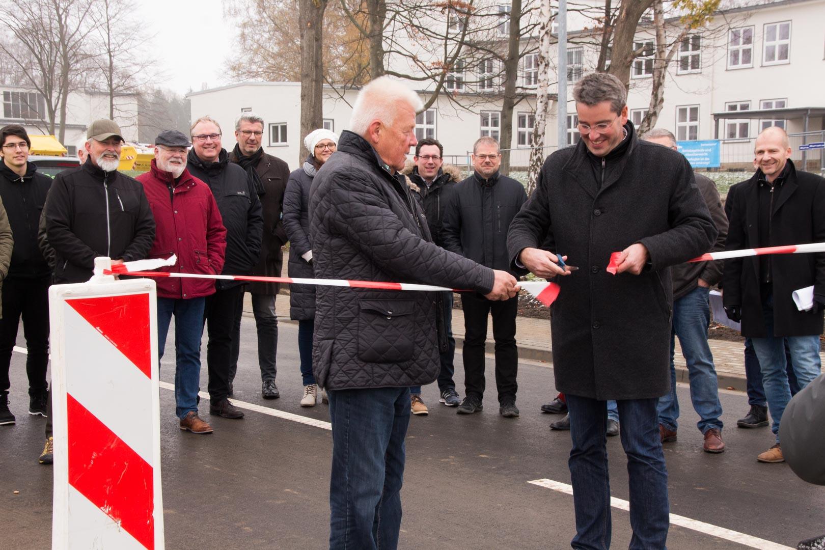 Straßeneröffnung Fliegerhorst Bornemann AG