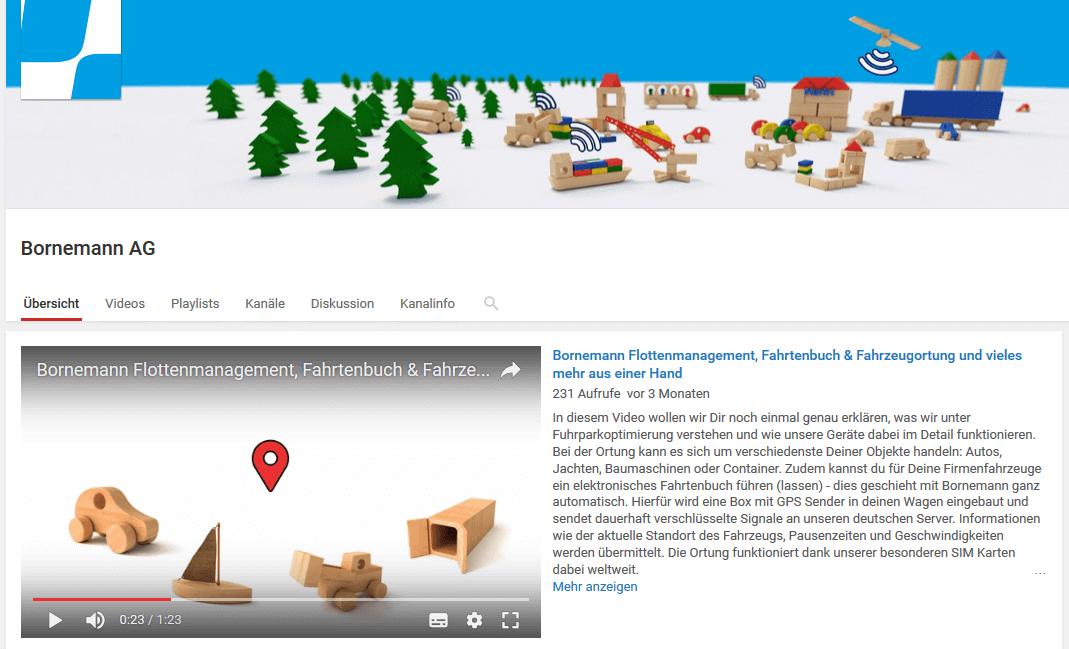 unser neuer youtube kanal die tutorials zum logbook und infleet